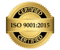 ISO certified company 9001:2015