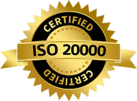 ISO certified company 20000